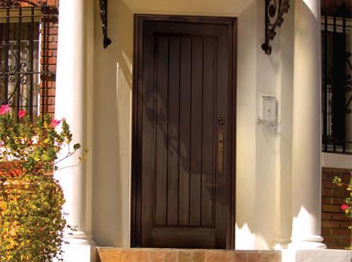 Impact doors fiberglass solid panel