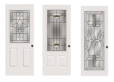 Plastpro entry doors fiberglass for Replacement glass inserts for exterior doors