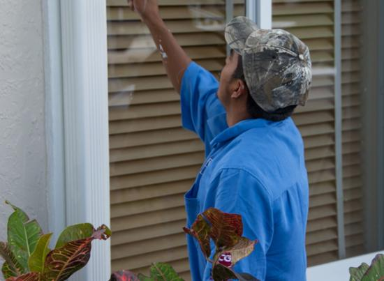 Window replacement company quality control