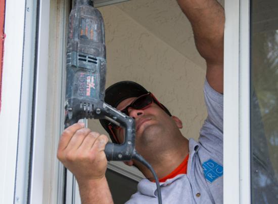 Replacement window installation sealing