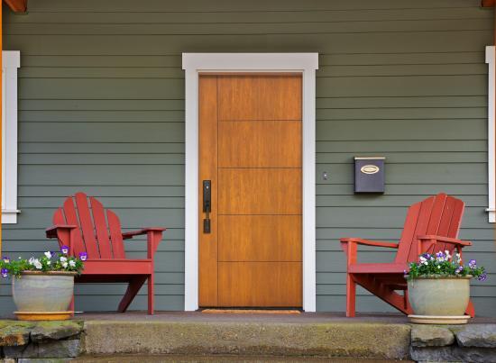 MasterGrain Single Entry Door
