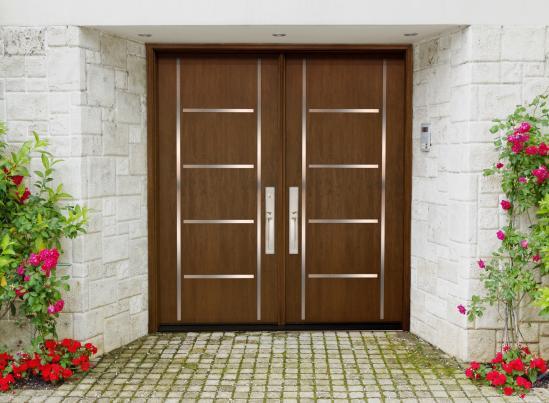 MasterGrain Double Entry Door