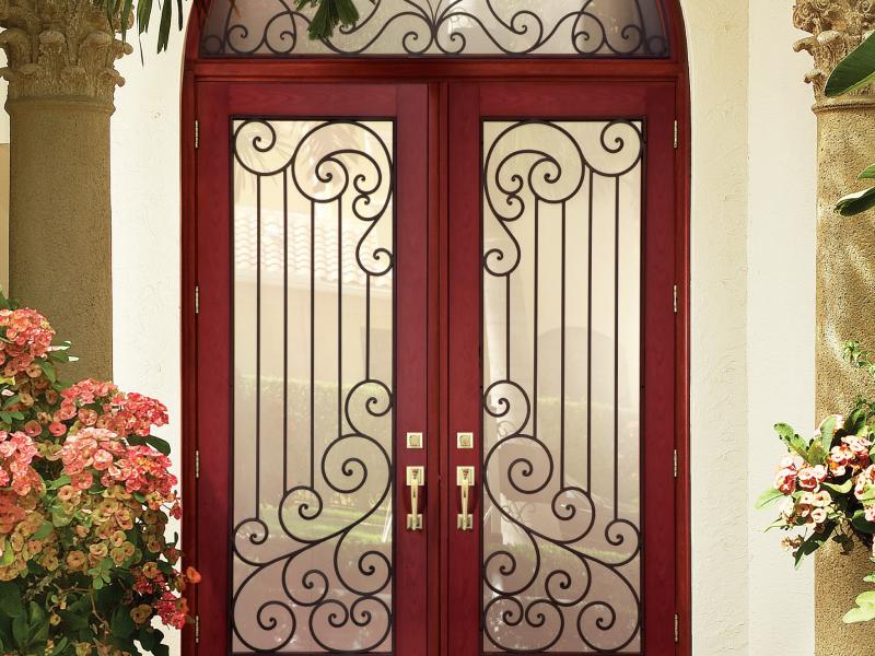 Aluminum And Fiberglass Entry Doors