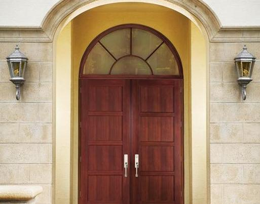 CGI Estate Double Entry Door with Architectural Transom