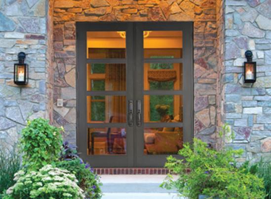 CGI Estate Double Entry Door