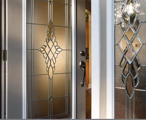 Impact Door Glass - Decorative