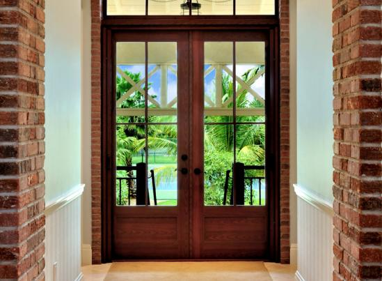 CGI Estate Double Entry Door with Transom