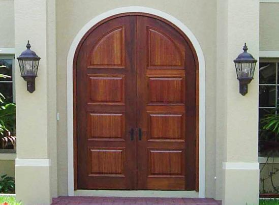 Signature Double Arch-Top Entry Door