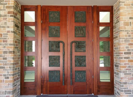 Millwork 360 Double Entry Door with Sidelites
