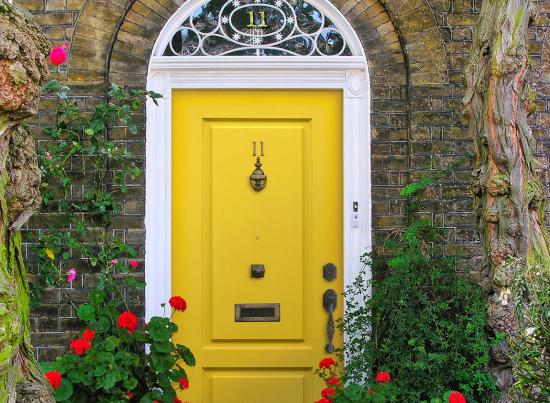 MasterGrain Single Entry Door with Architectural Transom