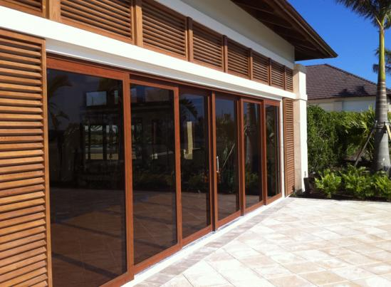 Hurricane sliding doors windoor