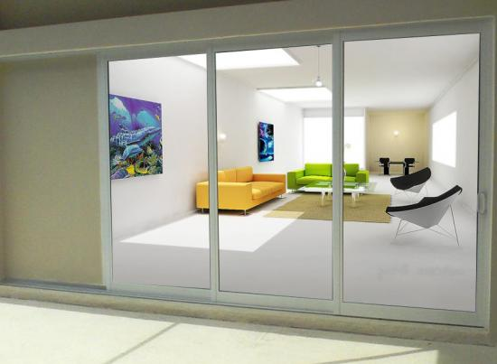 Impact pocket doors windoor