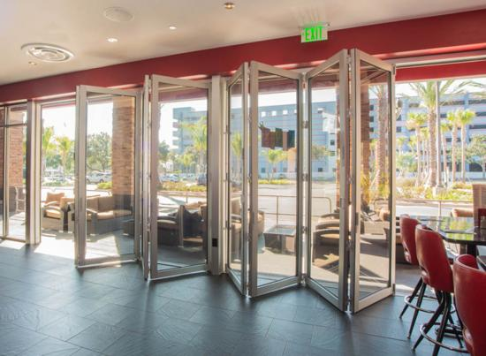 Folding Patio Impact Doors