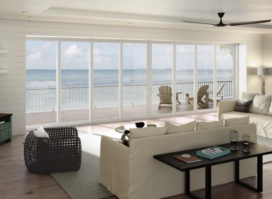 PGT WinGuard Preferred Sliding Glass Door - Vinyl