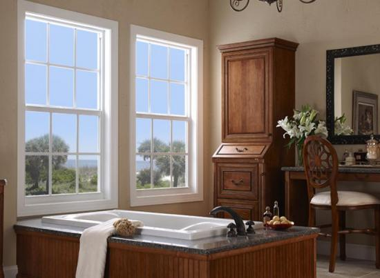 PGT WinGuard Single Hung Window - Aluminum