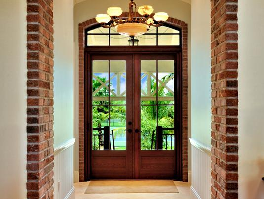 Entry doors for French doors front entrance