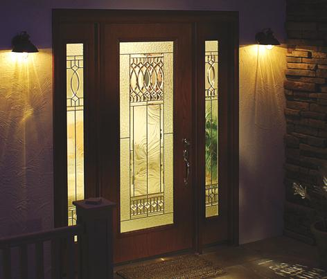 old world architectural style impact resistant doors